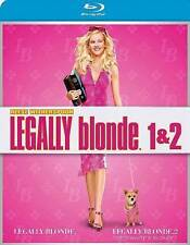 LEGALLY BLONDE 1 & 2 like New  Blu-ray Red White Blonde