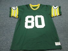 VINTAGE 80'S SAND KNIT NFL GREEN BAY PACKERS JAMES LOFTON GREEN JERSEY SIZE M