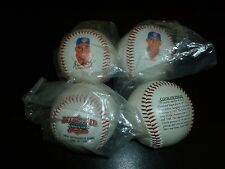 "CLEVELAND INDIANS  COMMEMORATIVE ""SLUGGERS SERIES"" 4-BASEBALL SET Thome Ramirez"
