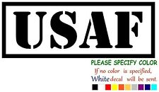 """USAF United States Air Force Funny Vinyl Decal Sticker Car Window laptop 7"""""""