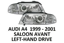AUDI A4 B5 FRONT HEADLAMPS HEAD LAMP HEADLIGHTS H7 H7 PAIR SALOON AVANT 99-01