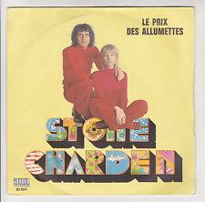 """STONE & CHARDEN Vinyle 45 Tours 7"""" LE PRIX DES ALLUMETTES - YAMAHA - AMI 89004"""