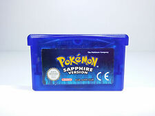 POKEMON SAPPHIRE VERSION Envio Combinado ZAFIRO NINTENDO GAMEBOY ADVANCE