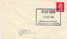 (33900) GB CLEARANCE Cover FIP Pharmaceutical Sciences London NW1 9 Sept 1969