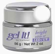 EzFlow LED/UV Gel It Bright White It - 56 g / 2 oz -42362