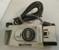 Vintage OSROW Mini Portable Travel Iron with Temperature Control  Pouch