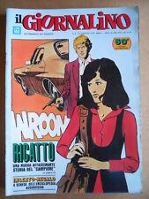 GIORNALINO n°8 1974 Il Campione Zaniboni Pinky La Linea [G554]