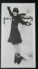Sonja Henie  Norway  Women's Figure Skater & Hollywood Actress  ## Photo Card