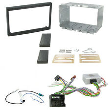Peugeot 207 307 Double Din Fascia With Steering Controls Car Stereo Fitting Kit
