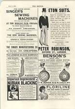 1894 Eton tute Nubiano nero cucitura diagonale Corsetto Corsetto A maglia Company