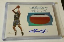 2015-16 Panini FLAWLESS Grant Hill AUTO Patch 7/10 Detroit Pistons