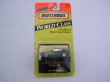 MIP  MATCHBOX CAR  #37 ASTON MARTIN DB-7 SUPER WORLD CLASS