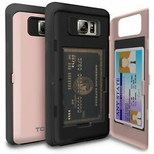 Galaxy Note 5 Case, TORU [CX PRO] - [CARD SLOT] [ID Holder] [KICKSTAND] Hidden 5