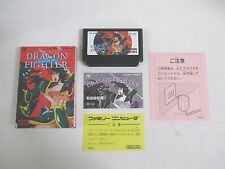 DRAGON FIGHTER -- Boxed. Famicom, NES, Japan game. Work fully. 10757