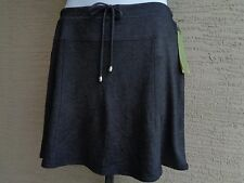 Green Tea Cotton Textured  Stretch Fabric Short Skort XL White msrp. $58. Black