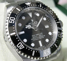 Rolex Sea Dweller DEEPSEA 116660 Mens Stainless Steel Black Dial Ceramic 44MM