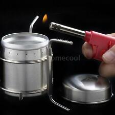 Stainless Steel Spirit Burner Alcohol Stove Outdoor Camping Furnace TE MA32
