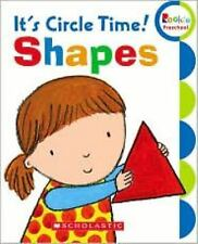 It's Circle Time! Shapes (Rookie Preschool: My First Rookie Reader)-ExLibrary
