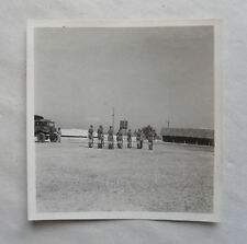 Vintage 40s/1948 B/W Photograph. British Soldiers on Guard in Malaya District #6