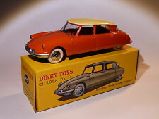 Citroen DS 19 rouge / orange - ref 24 CP au 1/43 de dinky toys atlas
