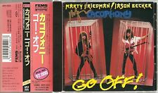 Cacophony - Go Off! (Japan CD w/OBI - Autographed by Marty Friedman) APCY-2015