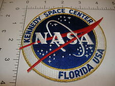 "Kennedy Space Center NASA space patch 4"" JFK shuttle KSC vector logo Florida USA"