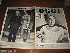 RIVISTA OGGI 1953/17=COLETTE MARCHAND=MOULINE ROUGE=ALEXANDER FLEMING=
