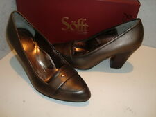 Sofft NWB Womens Abena Smog Bronze Heels Shoes 8 Medium NEW