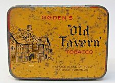 Ogden's OLD TAVERN TOBACCO Tin.  Imperial Tobacco Great Britain