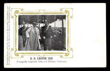 antica cartolina LEONE XIII PAPA