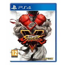 Street fighter v PS4 game brand new