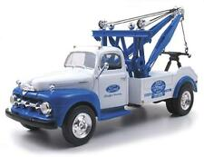 First Gear 10-3820 1951 Ford Tow Truck 'Ford' Blue & White 1/34th Scale T48 Post
