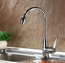 Hot/Cold Mixer Water Tap Basin Kitchen Bathroom Wash Basin Faucet Chrome Plated