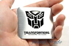 Transformers Autobot 3D Car Aluminium Decal Badge Emblem Universal for Auto SUV