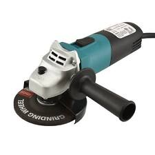 "Angle Grinder | 4 1/2"" Electric Metal Cut Off Tool 12,000 RPM Small Hand Held"