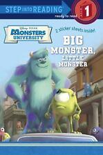 Big Monster, Little Monster Disney/Pixar Monsters University Step into Readin