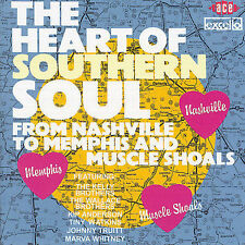 Various Artists-The Heart Of Southern Soul CD NEW