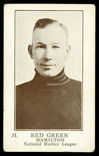1923 V145-1 WILLIAM PATTERSON ~ #31 ~ RED GREEN ~ ROOKIE CARD