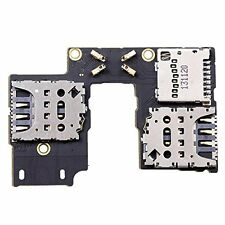 Motorola MOTO G3 3rd Gen XT1550 Micro SD SIM Card Reader Holder Tray Flex Board