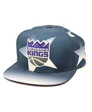 NBA Sacramento Kings Mitchell & Ness Award Ceremony Snapback Hat Navy One Size