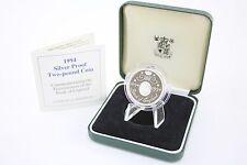 1994 prova d'argento moneta Banca of England 400 anni