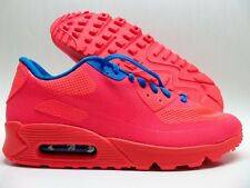 NIKE AIR MAX 90 HYPERFUSE PREMIUM ID SOLAR RED/BLUE SIZE MEN'S 10 [653603-993]