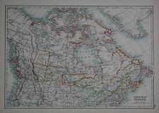 1897 DOMINION OF CANADA LARGE MAP