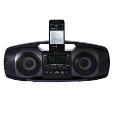 Groov-e Bluetooth Wireless Portable Sound Blaster Including Radio - Black