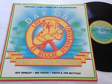 LIVE AT SUNSPLASH BEST OF THE FESTIVAL DAY ONE NM- 1983 Big Youth U-Roy LP