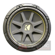 "KICKER C15 Comp 15"" Car Subwoofer SVC 4-Ohm 500W Sub 10-C15-4 Woofer New"