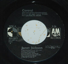 Janet Jackson 45 Control / Fast Girls