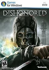 Dishonored for PC Brand New Factory Sealed
