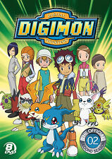 Digimon: Digital Monsters - The Official Second Season (DVD, 2013) BRAND NEW!!