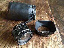 Pentax Takumar 28mm F/3.5 SMC Lens With Hood SPARES/REPAIRS